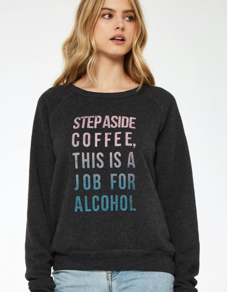 Project Social Step Aside Coffee Sweatshirt Charcoal