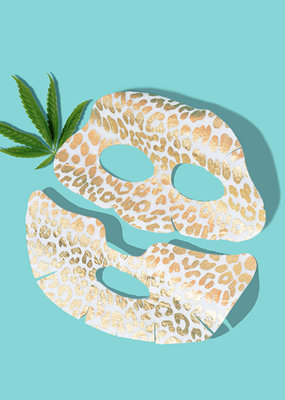 SF Glow Glam Straight Sheet Mask (Cannabis Sativa)
