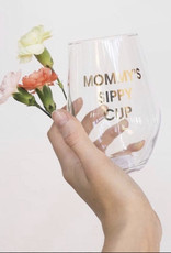 Chez Gagne Mommy's Sippy Cup Wine Glass