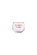 Slant Collections Roly Poly Glass - Raise Glass