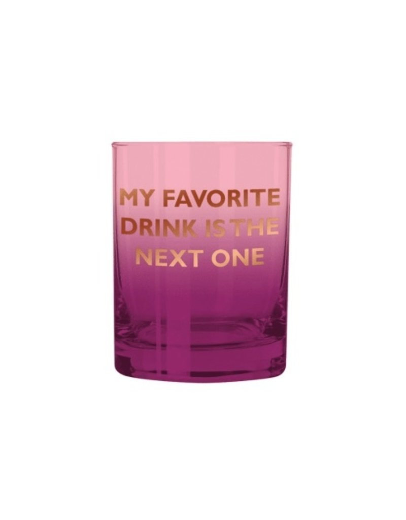 Slant Collections Glass  - Favorite Drink
