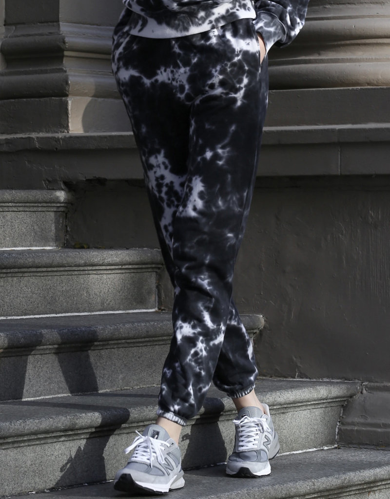 """Brunette The Label The """"MARBLE TIE DYE"""" Jogger"""