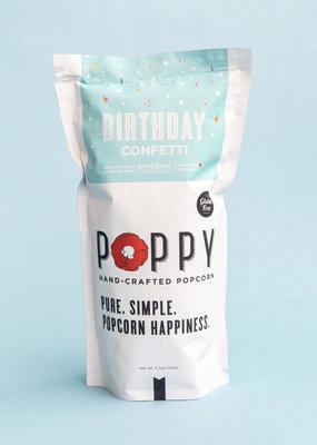 Poppy Handcrafted Popcorn Birthday Confetti Market Bag