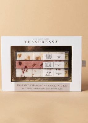 Teaspressa Instant Champagne Cocktail Kit