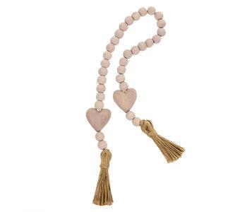 Heart Blessing Beads