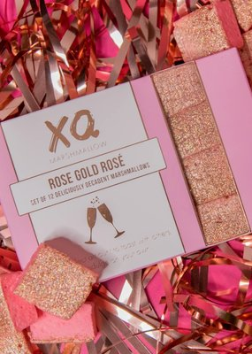 XO Marshmallow Rose Gold Rose Marshmallows