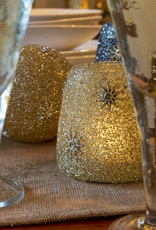 Indaba Trading Co. Starry Night Votive Gold, L