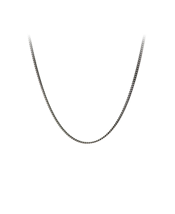 "26"" Fine Curb Chain, Silver"