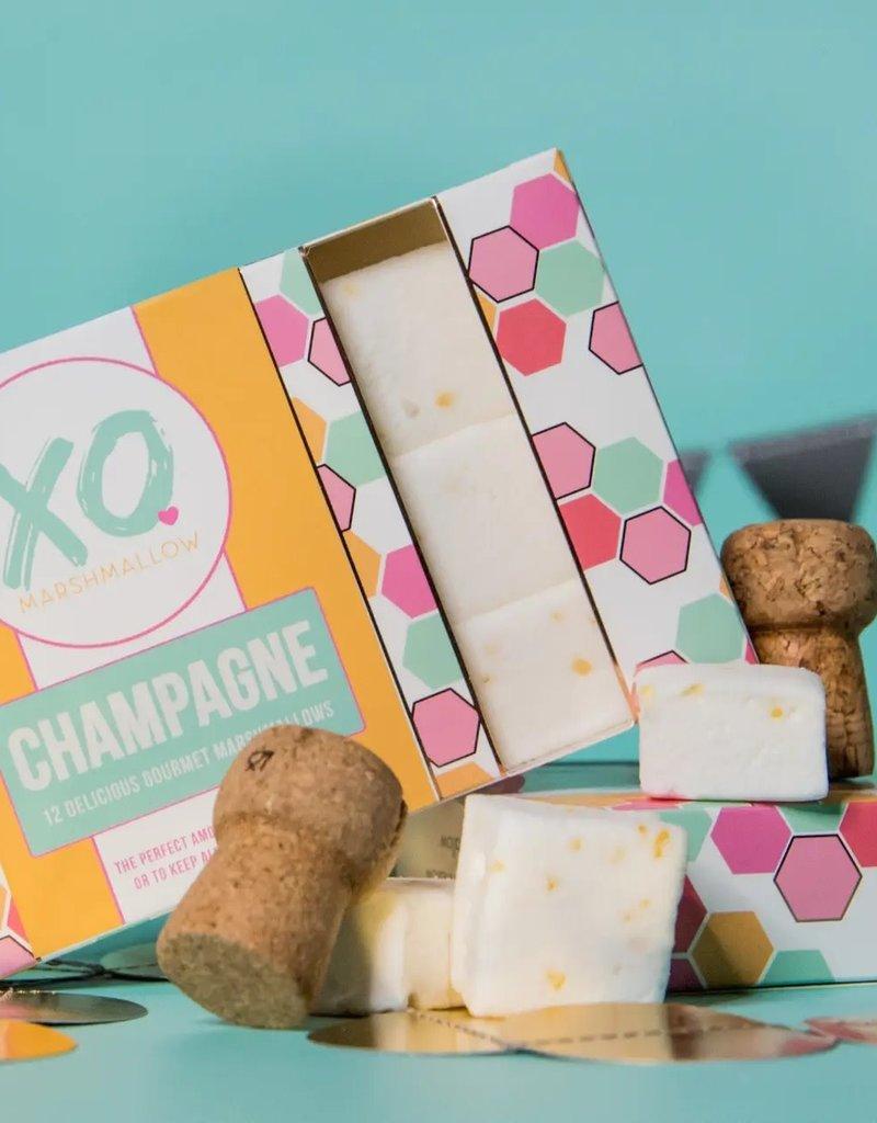 XO Marshmallow Champagne Marshmallows