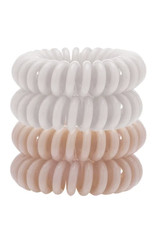 KITSCH Nude Hair Coils - Pack of 4