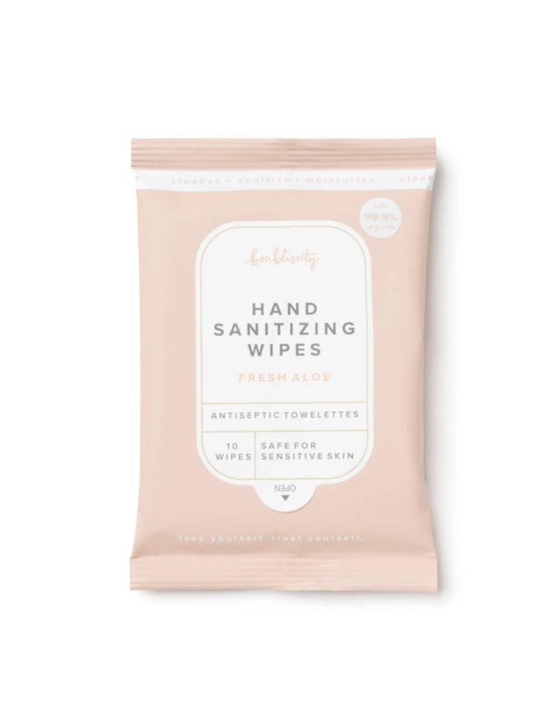 Bonblissity Hand Sanitizing Wipes -10 pk