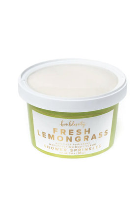 Bonblissity Shower Sprinkles Scrub: Fresh Lemongrass