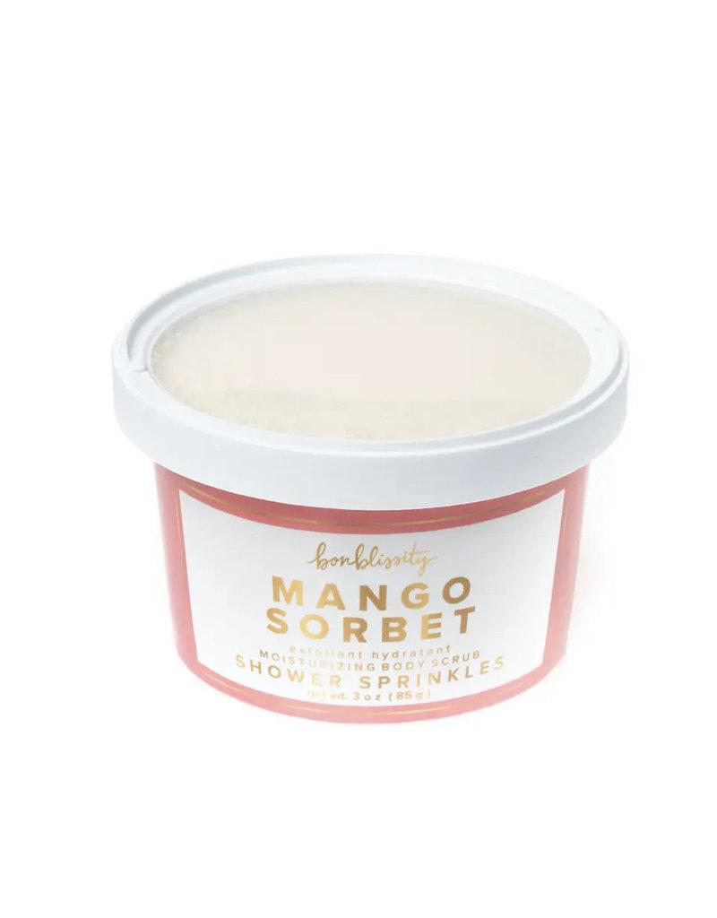 Bonblissity Shower Sprinkles Scrub: Mango Sorbet