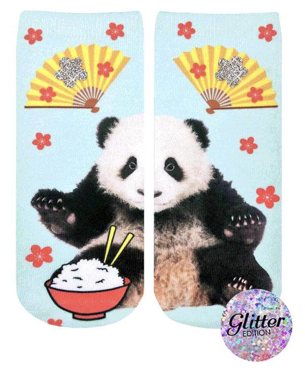 Tokyo Panda Glitter Ankle