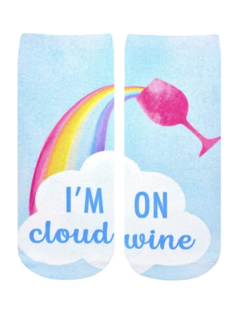 Living Royal I'm On Cloud Wine Ankle