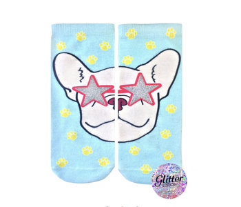 Frenchie Fame Glitter Ankle