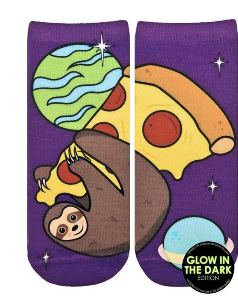 Living Royal Pizza Sloth Glow Ankle