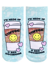 Living Royal Coffee & Bad Decisions Ankle Socks