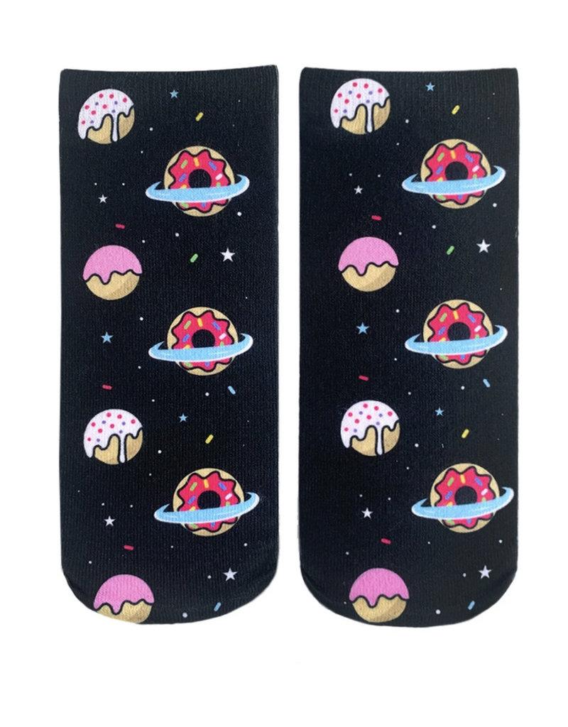 Living Royal Galaxy Donut Ankle Socks