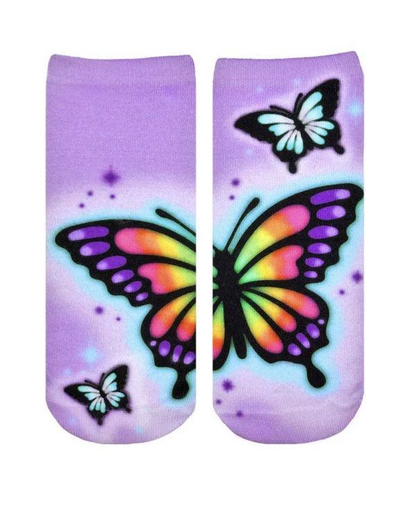 Butterfly Airbrush Ankle
