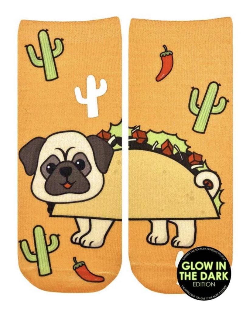 Living Royal Taco Pug Glow Ankle
