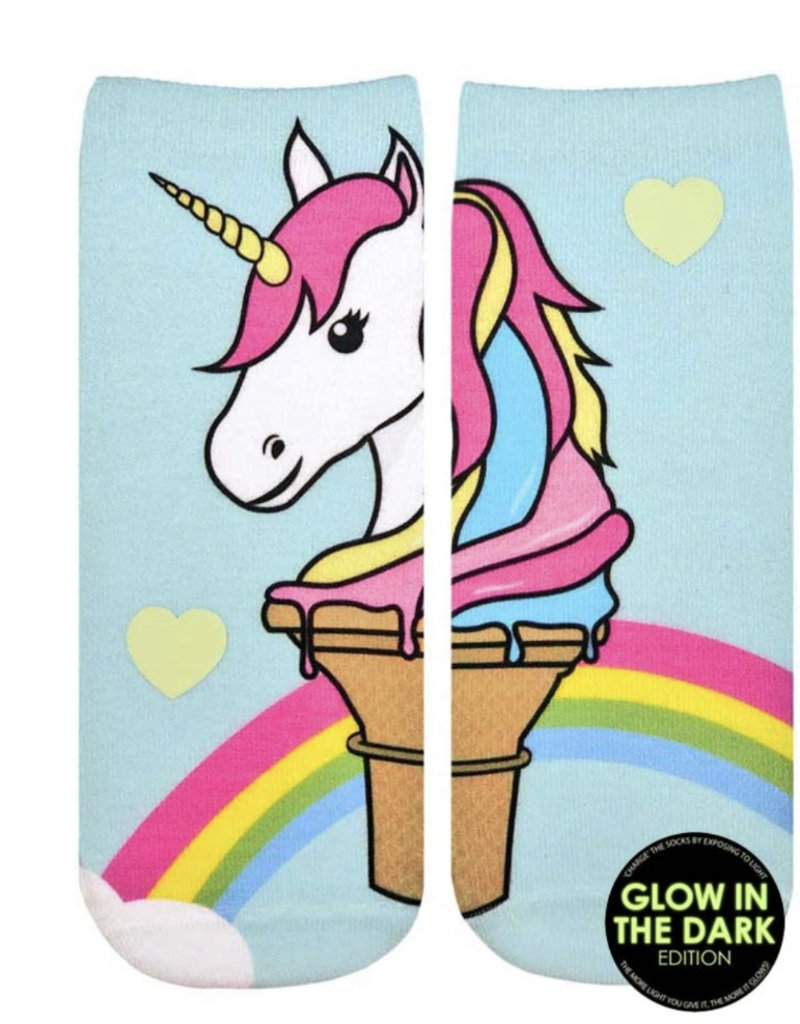 Living Royal Unicorn Ice Cream Glow Ankle