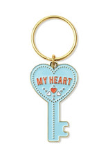 The Found Key To My Heart Key Chain
