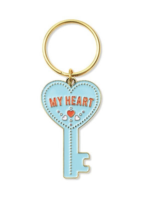 The Found Key To My Heart Key Chain