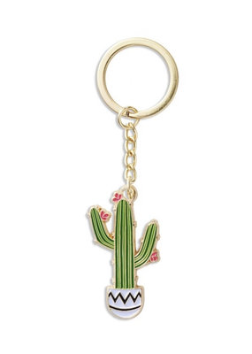 The Found Saguaro Key Chain