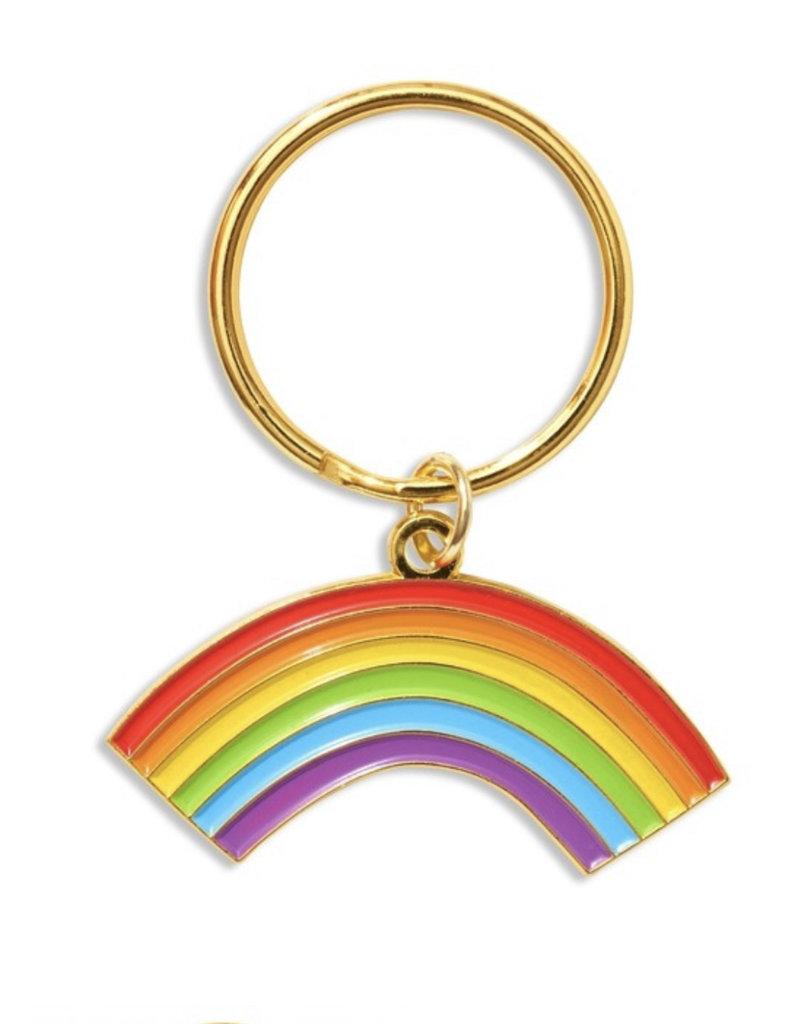 The Found Rainbow Key Chain