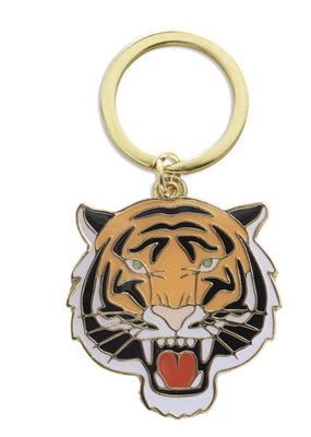 The Found Tiger Key Chain