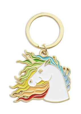 The Found Unicorn Key Chain