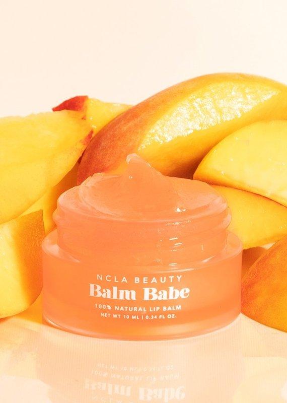 NCLA Beauty Balm Babe Peach Lip Balm
