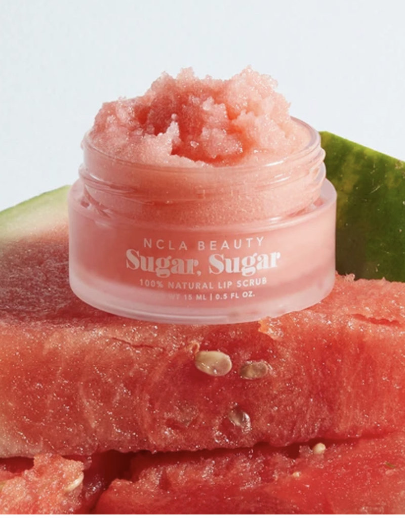 NCLA Beauty Sugar Sugar Watermelon Lip Scrub