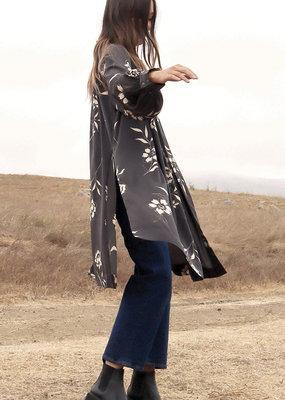 Saltwater Luxe Nikki Robe Raven