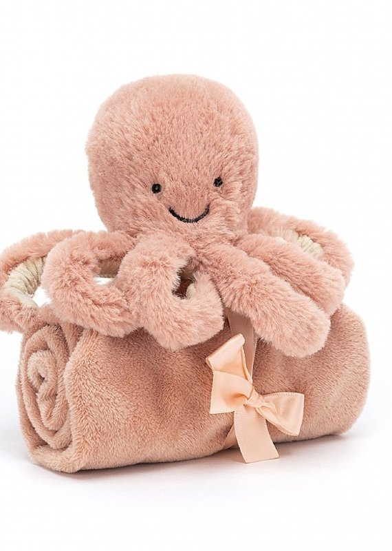 Jellycat Inc. Odell Octopus Soother