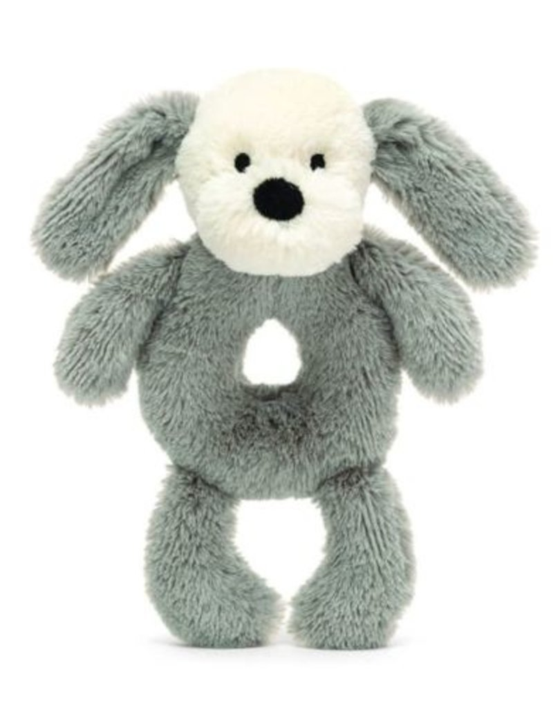 Jellycat Inc. Smudge Puppy Rattle Ring