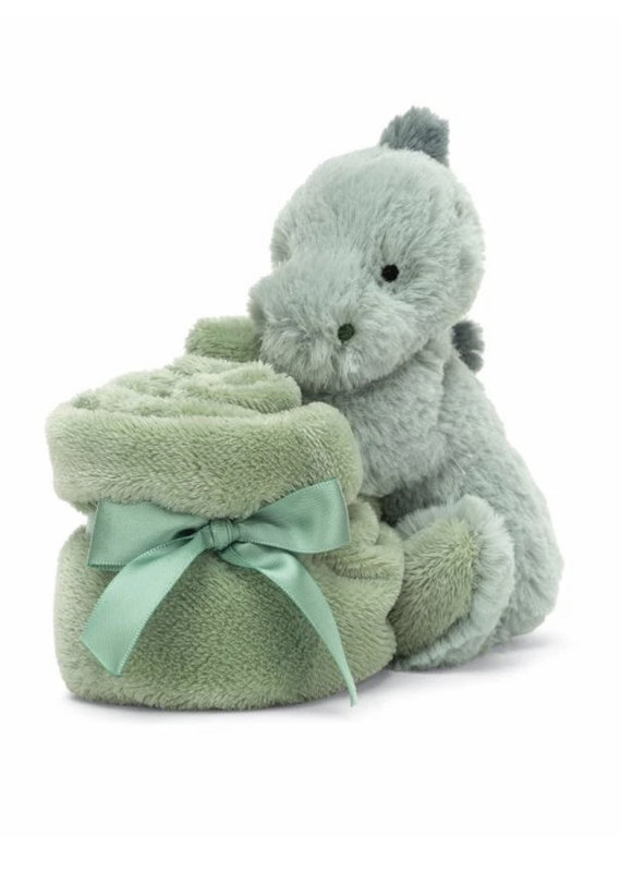 Jellycat Inc. Puffles Dino Soother