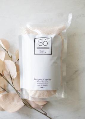 So Luxury Salty - Bergamot Vanilla