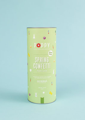Poppy Handcrafted Popcorn Spring Confetti Cylinder
