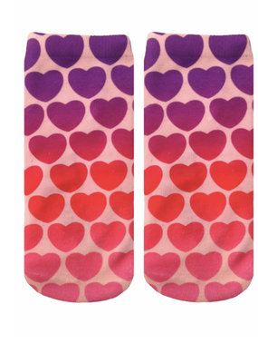Living Royal Hearts Ankle Socks