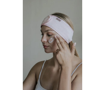 Microfiber Spa Headband, Blush