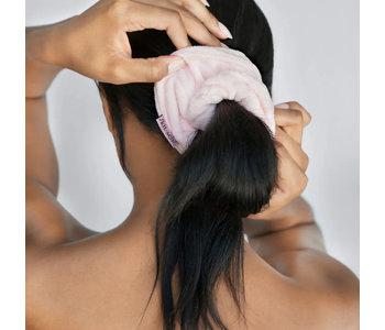Microfiber Towel Scrunchies, Blush (Set of 2)