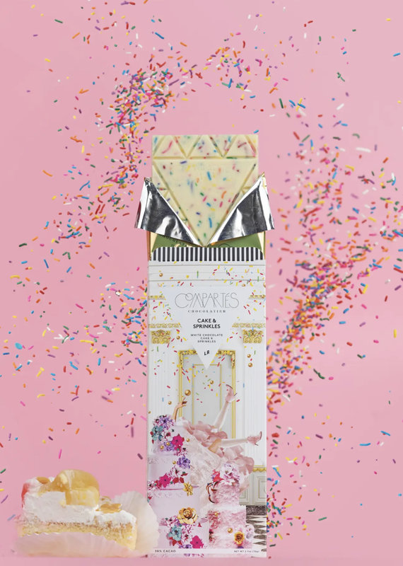 Compartes Chocolates Birthday Cake Chocolate Bar