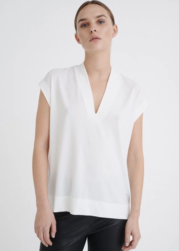 InWear Yamini Top, White Smoke
