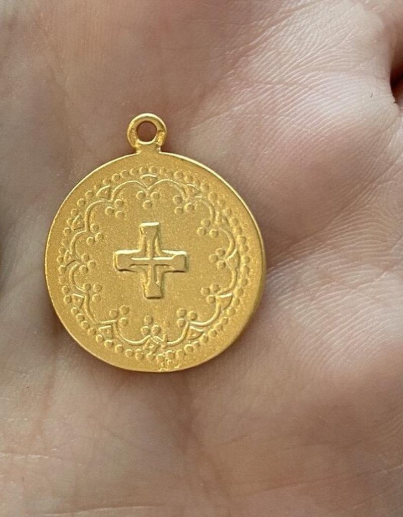 lavender & grace Jo Necklace, Shiny 14K Gold Filled