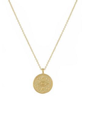 lavender & grace Evil Eye Necklace
