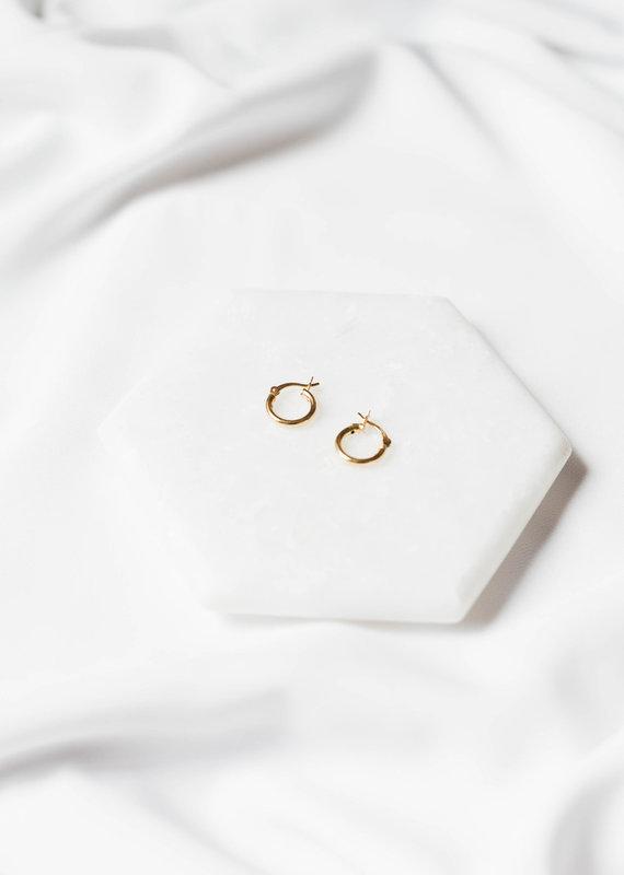 lavender & grace Grace Huggies, 14K Gold Filled