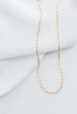 "lavender & grace Sloan Chain, 18"" Gold Filled"