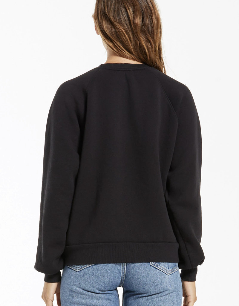 Zsupply Billie Classic Sweatshirt, Black